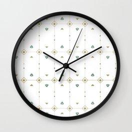 Jazzy Okami Pattern Wall Clock