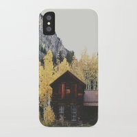 cabin iPhone & iPod Cases featuring Crystal Cabin by Kevin Russ