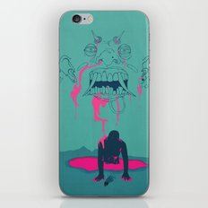 I. From the Ether, Beholden to the One Handed Man iPhone & iPod Skin