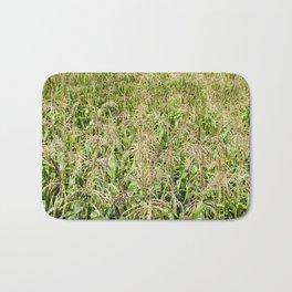 brushes of young corn Bath Mat