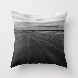 Seaburn Beach Throw Pillow