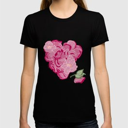 Heart of flowers T-shirt