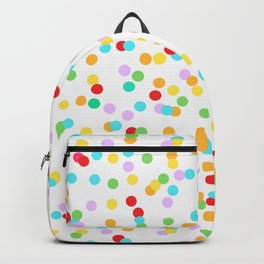 CONFETTI ((the rainbow)) Backpack
