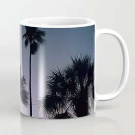 Palms in the Night Sky Coffee Mug