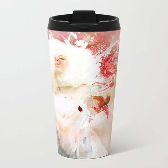 Moon at Noon Metal Travel Mug
