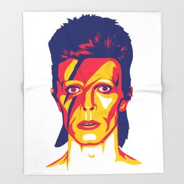 Bowie Throw Blanket