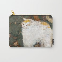 Pierre Bonnard - The White Cat / Le Chat Blanc Carry-All Pouch