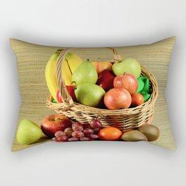 Caribbean fruit basket Rectangular Pillow