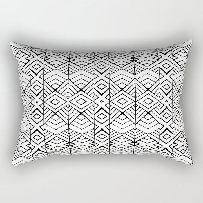 Tribal Expression Rectangular Pillow