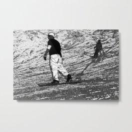 Snowboarding - Winter Sports Metal Print