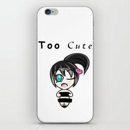 Too Cute iPhone Skin