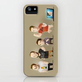 IG Lineup iPhone Case