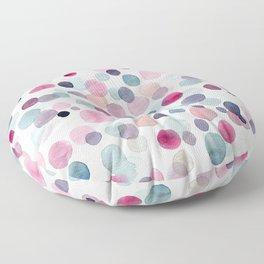 Pink Bubbles Floor Pillow