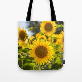Sunflowers happiness Tote Bag