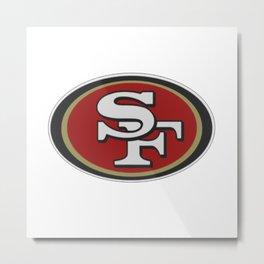 San Fransisco Logo Metal Print