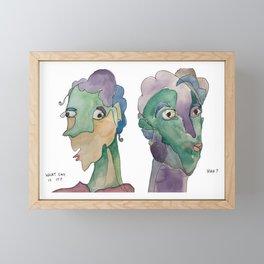 Quarantine Series Framed Mini Art Print