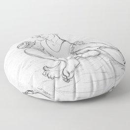 Teenage Ponyo Floor Pillow