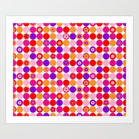 """Spring circles"""" Art Print"