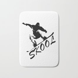 Boarding Skool -Snowboarding Bath Mat