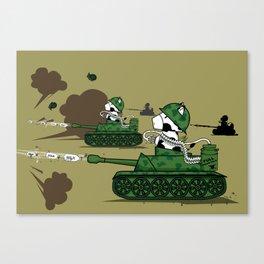 Muso Milkwar Tanker Canvas Print