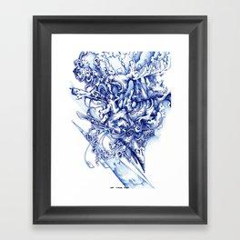skine Framed Art Print