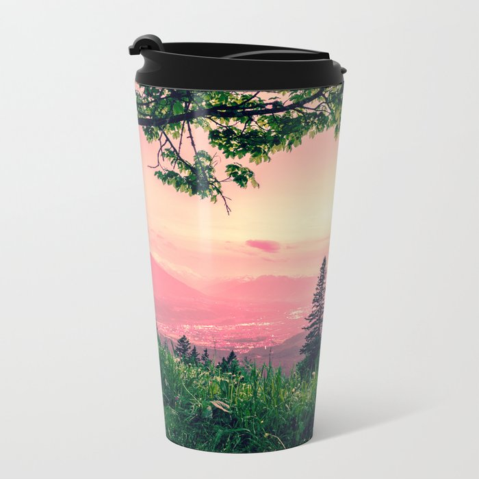 Alpine Fairytale Metal Travel Mug