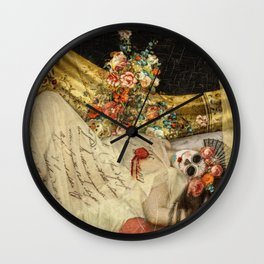 The Sleeping Heart Wall Clock