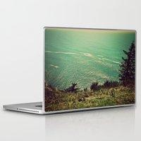 west coast Laptop & iPad Skins featuring West Coast  by Hannah Kemp
