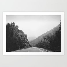Mountains/Wanderlust Art Print