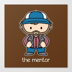 The Mentor Canvas Print