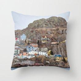 Newfoundland 4 Throw Pillow