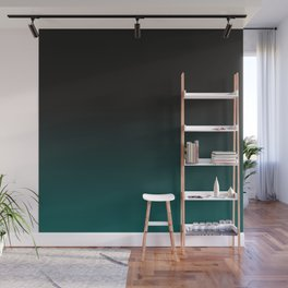 Color Change, Gradation, Forest Green Wall Mural