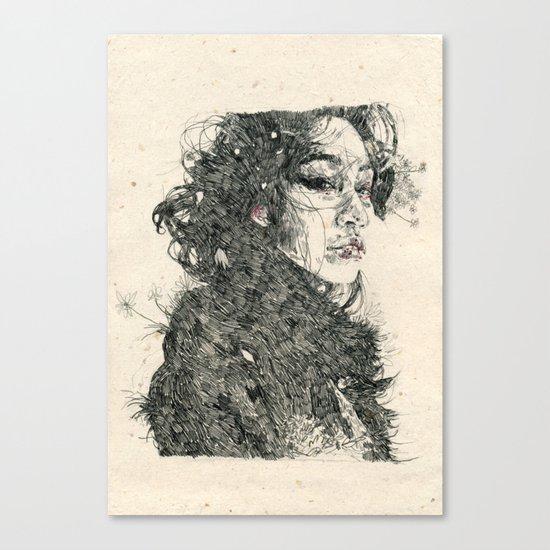 Eden Child Canvas Print