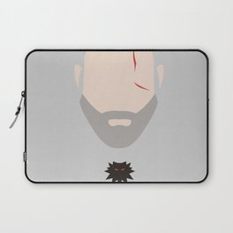 Minimalist Geralt of Rivea - The Witcher Laptop Sleeve
