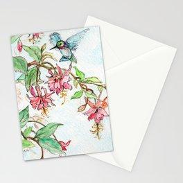 Honeysuckle Hummingbird Stationery Cards