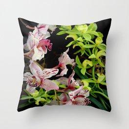 Ring Of Fleur Throw Pillow