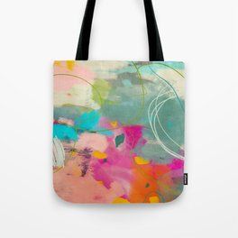 mixed abstract brush color study art 1 Tote Bag
