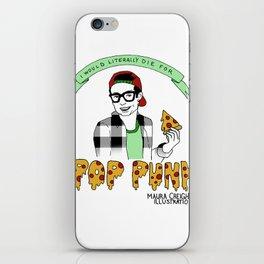 Defend Pop Punk (color, version 2) iPhone Skin