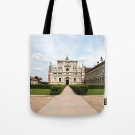 Certosa di Pavia Tote Bag