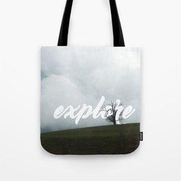 Explore // #TravelSeries Tote Bag