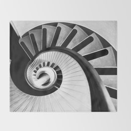 Spiral Throw Blanket