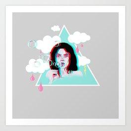 Bubble Bliss Art Print