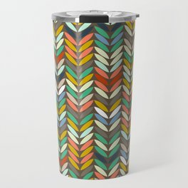 leaf arrow chevron SBEF Travel Mug
