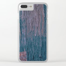 The Cold Breeze Abated Clear iPhone Case