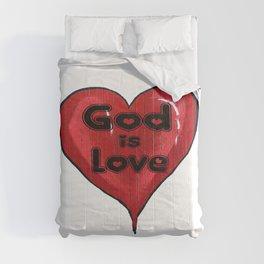 God Is Love Comforters