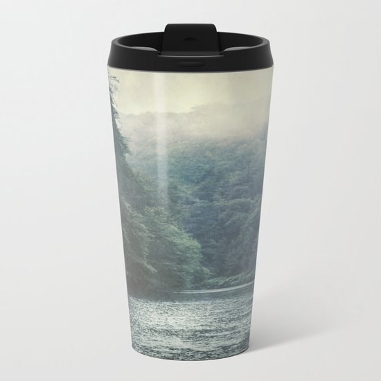 valley and river Metal Travel Mug