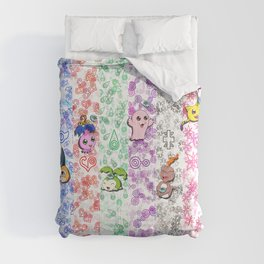 Digimon 15th Anniversary Comforters