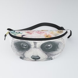Forest Raccoon by Nature Magick Fanny Pack