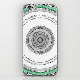 Green West iPhone Skin