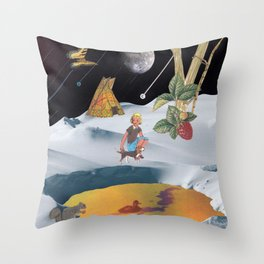 K2 Mountain Throw Pillow